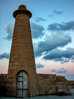 Lighthouse at Kyrenia (Girne) Port